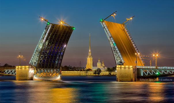 Петербургская ночь. Мосты