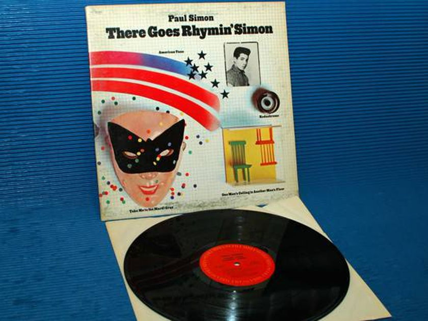 """PAUL SIMON -  There - """"There Goes Rhymin'"""" Simon - CBS 1973 side 1 Hot Stamper"""