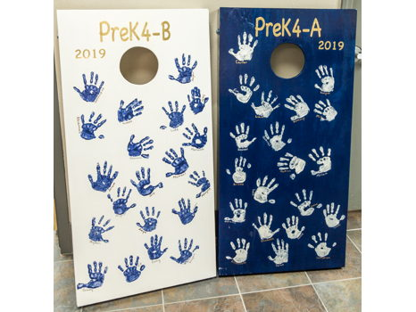 PreK4: Boss of the Cornhole Toss Game