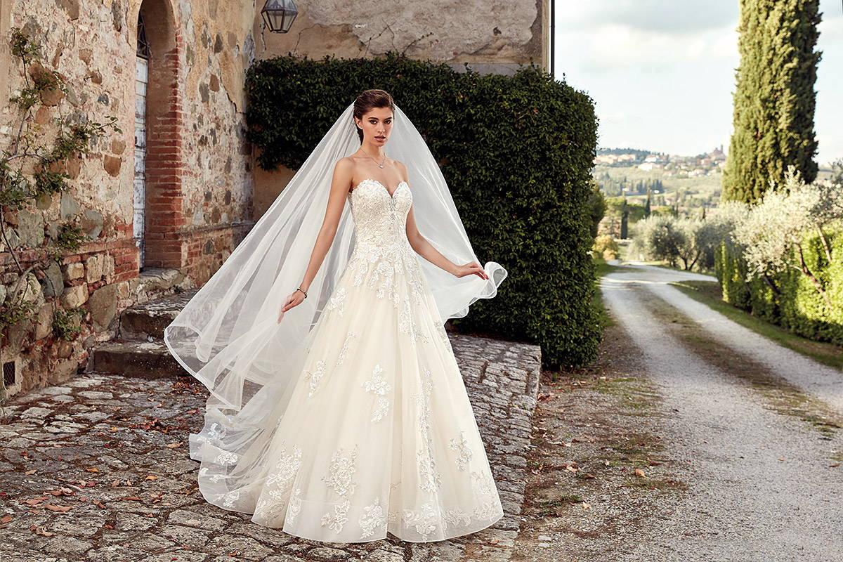 EDDY K WEDDING DRESS EK1214