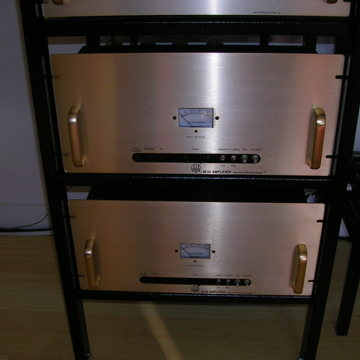 Gold 50 watt Mono Blocks
