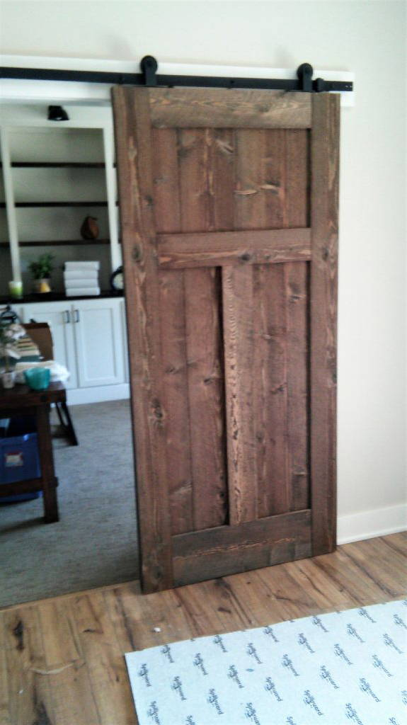 With any track door you also need track door hardware in order to display and use the door and we have that as well! Visit our track door page to see what ... & Track Doors - Homestead Timbers