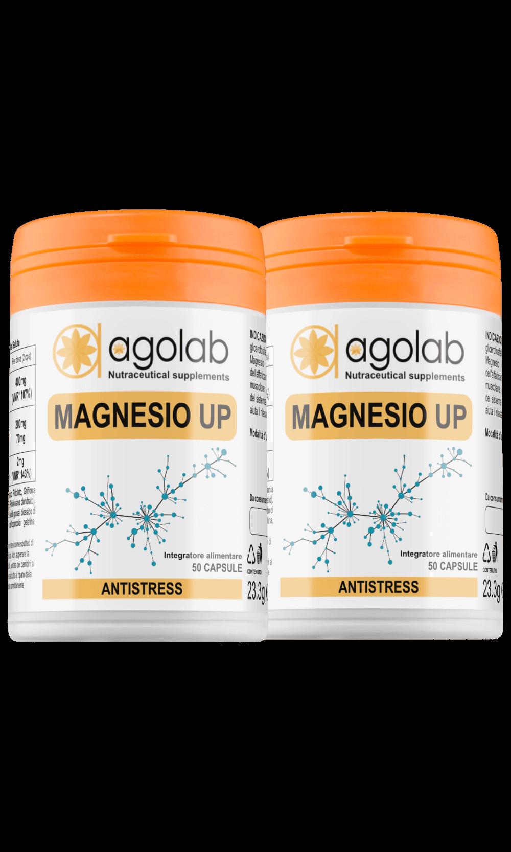 I benefici del magnesio Magnesio UP Agolab Nutraceutica integratore magnesio