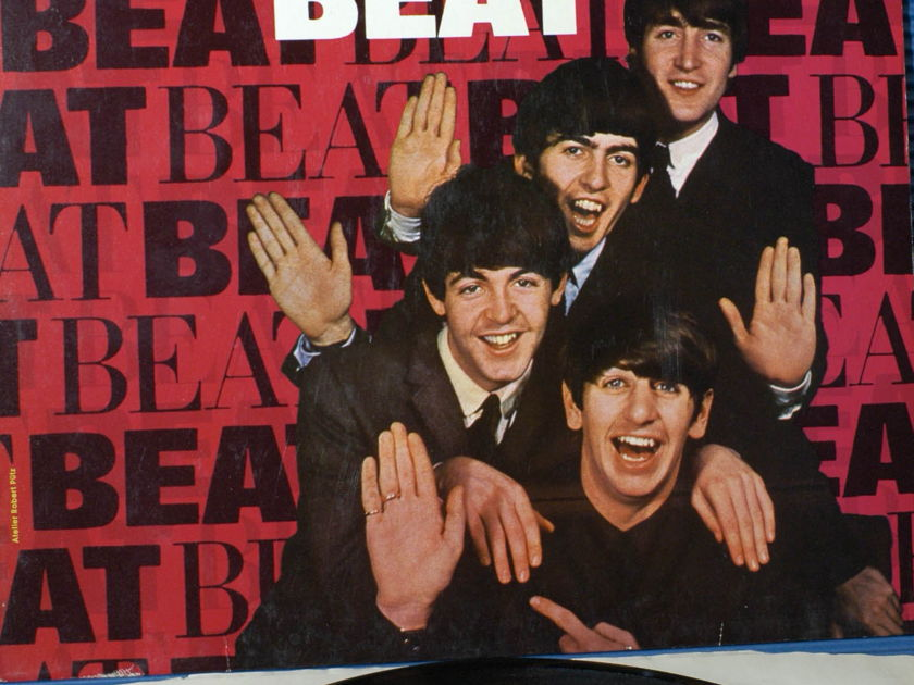 "THE BEATLES - - ""The Beatles Beat""  - Odeon 'Blue Label' German Import 1964"