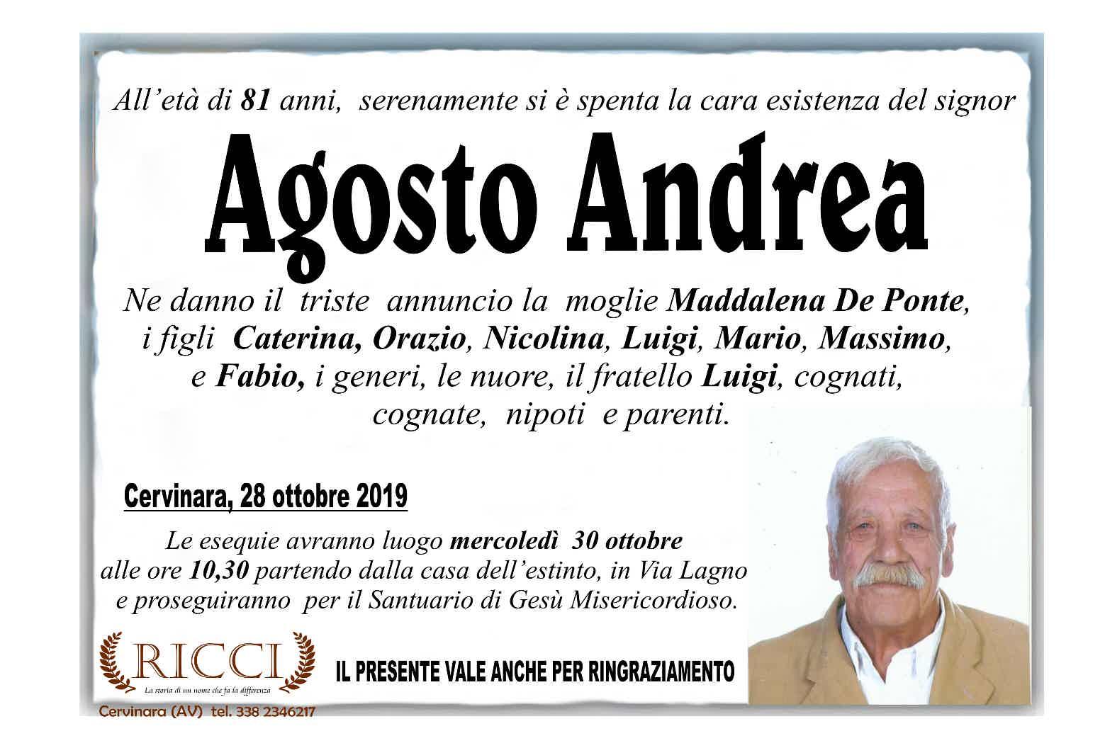 Andrea Agosto