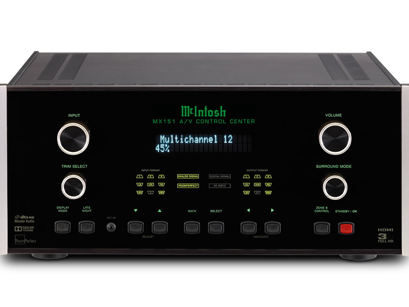McIntosh MX151 Home Theater Processor