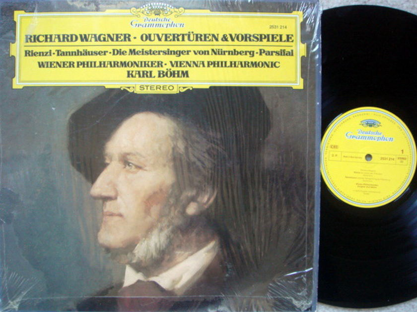 DG / BOHM-VPO, - Wagner Overtures & Preludes, NM!