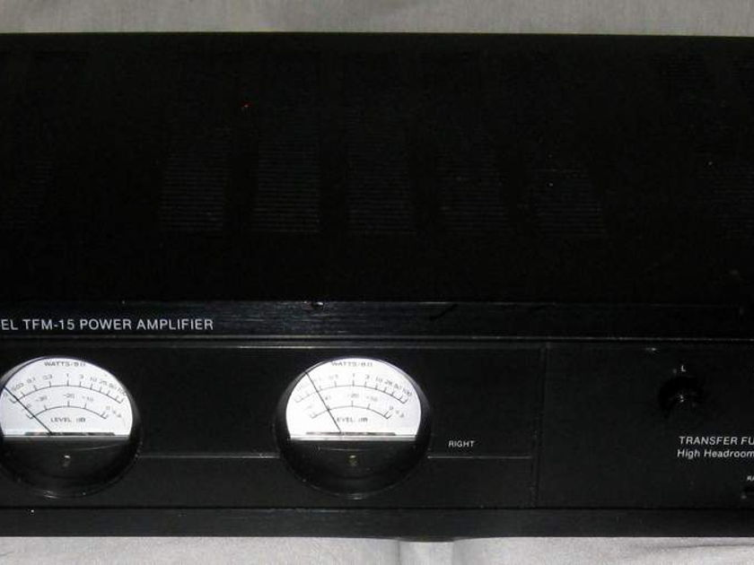 Carver TFM-15 power amplifier