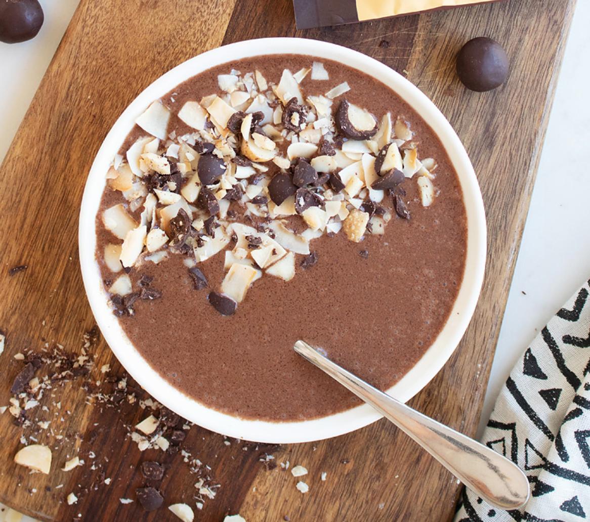 Chocolate Nut Smoothie Bowl