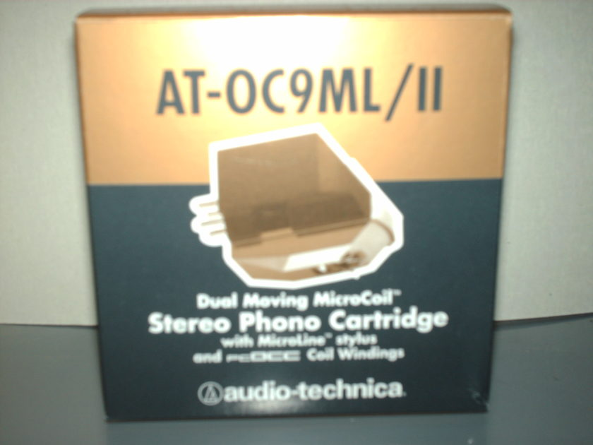 Audio-technica AT-OC9ML/II moving coil cartridge New never out of the box