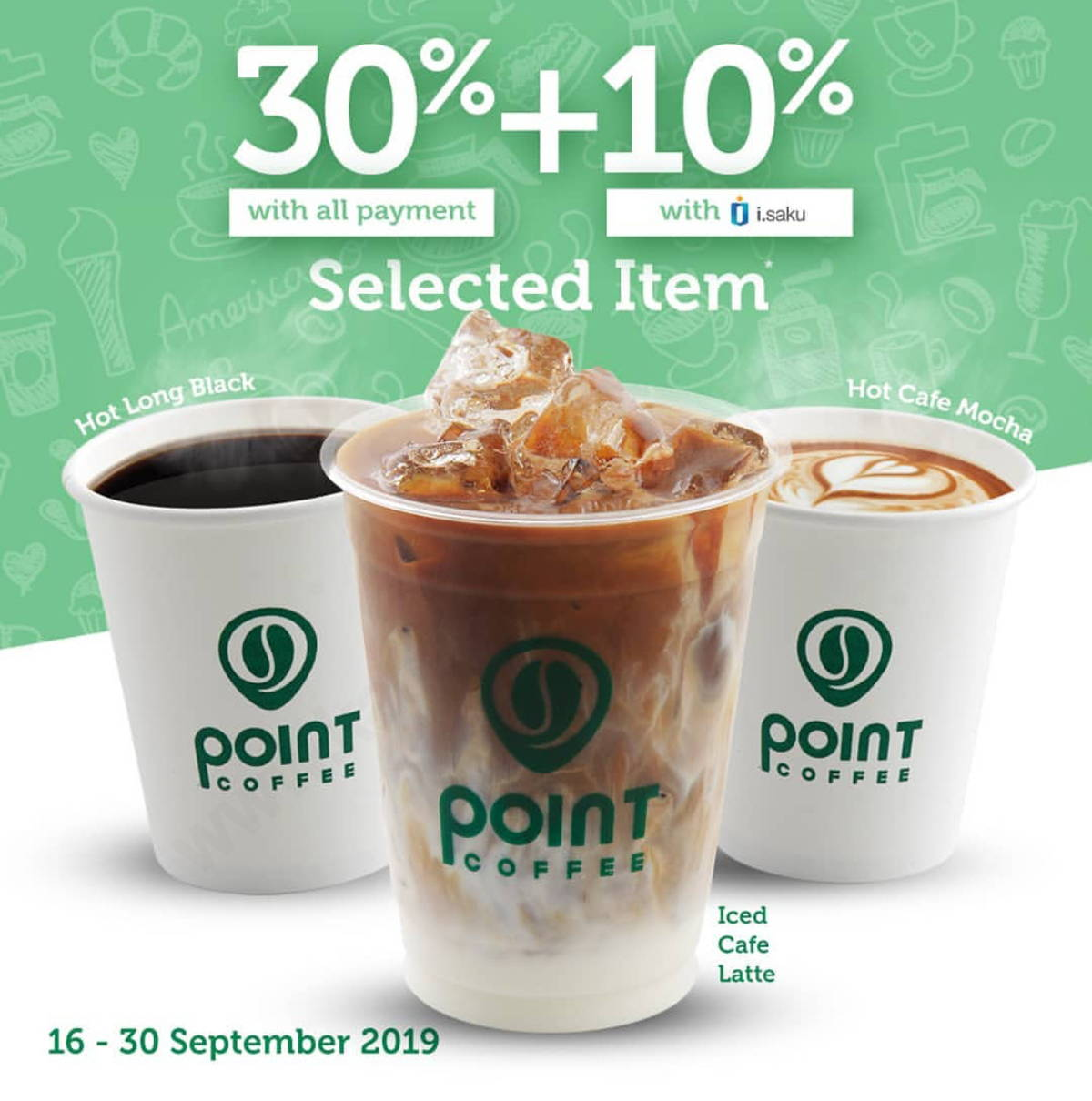 Katalog Promo: INDOMARET POINT CAFE Promo DISKON HINGGA 40% untuk produk tertentu - 1