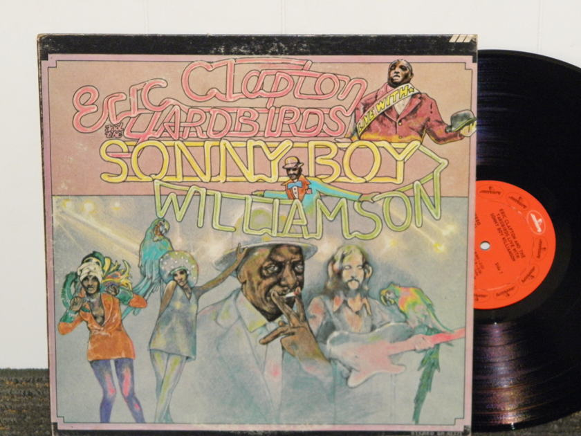 Eric Clapton/Yardbirds/Sonny Boy - Williamson LIVE Mercury STEREO SR 61271 First labels/matrixes