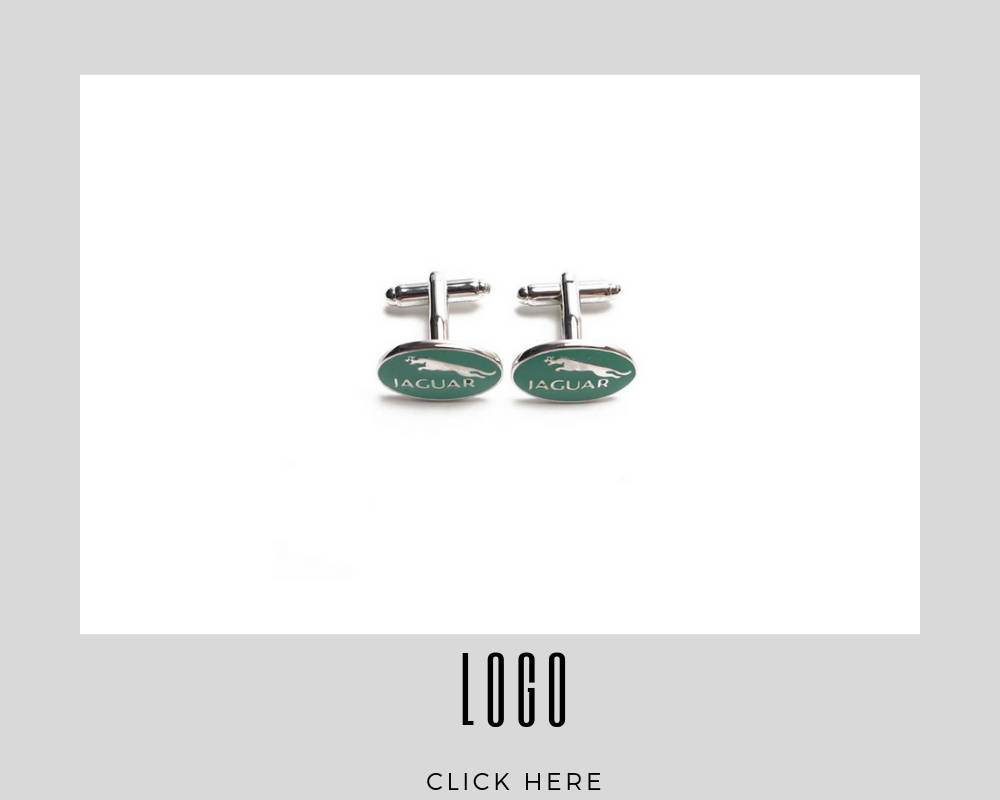 Corporate Custom Logo Cufflinks
