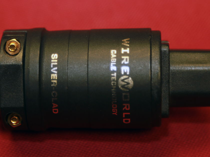 WIREWORLD SILVER ELECTRA 5.2 2 M W/FACTORY UPGRADED PLUGS