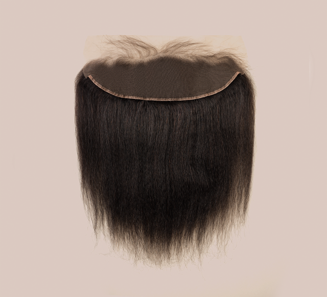 Kinky Straight Natural Black Frontals Mayvenn