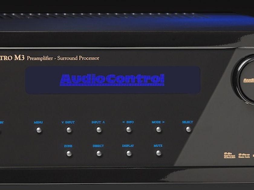 Audio Control Maestro M9 Preamplifier  Award Winning Dolby Atmos  Preamp processor