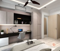 hd-space-contemporary-modern-malaysia-selangor-bedroom-study-room-3d-drawing-3d-drawing