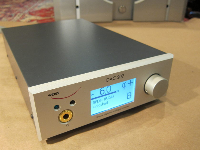 Weiss DAC 202 Musical and versatile