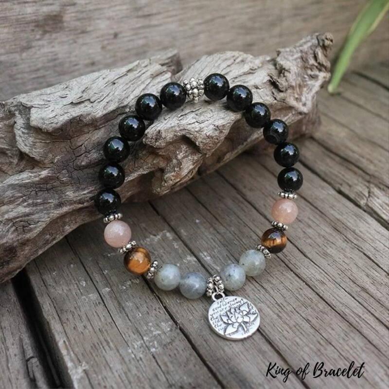 Bracelet en Perles d'Onyx Noir - King of Bracelet