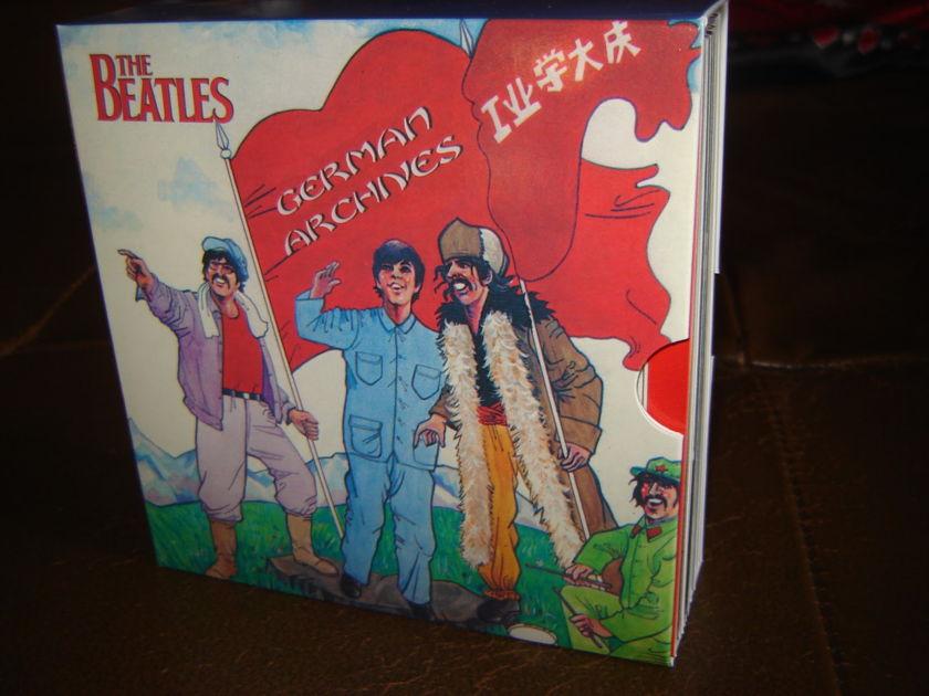 BEATLES - GERMAN ARCHIVES MINI CD BOX SET
