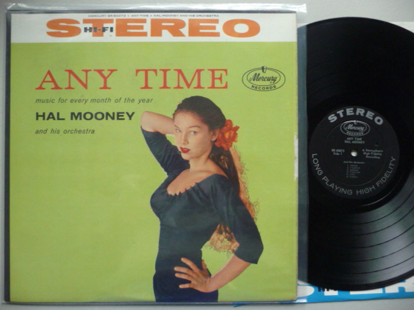ANY TIME - HAL MOONEY AND HIS ORCH. MERCURY LP EXCEL