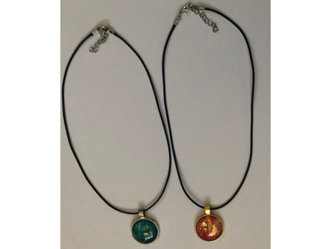 Two Necklaces from Blackwater Studio