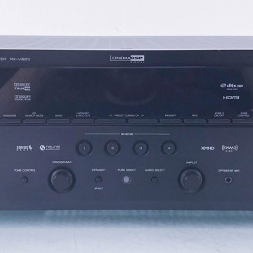 RX-V663 Home Theater Receiver; RXV663