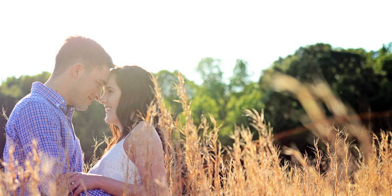 City meets country in this whimsical engagement shoot