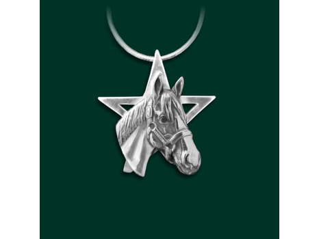 Justify Sterling Silver Star Pendant