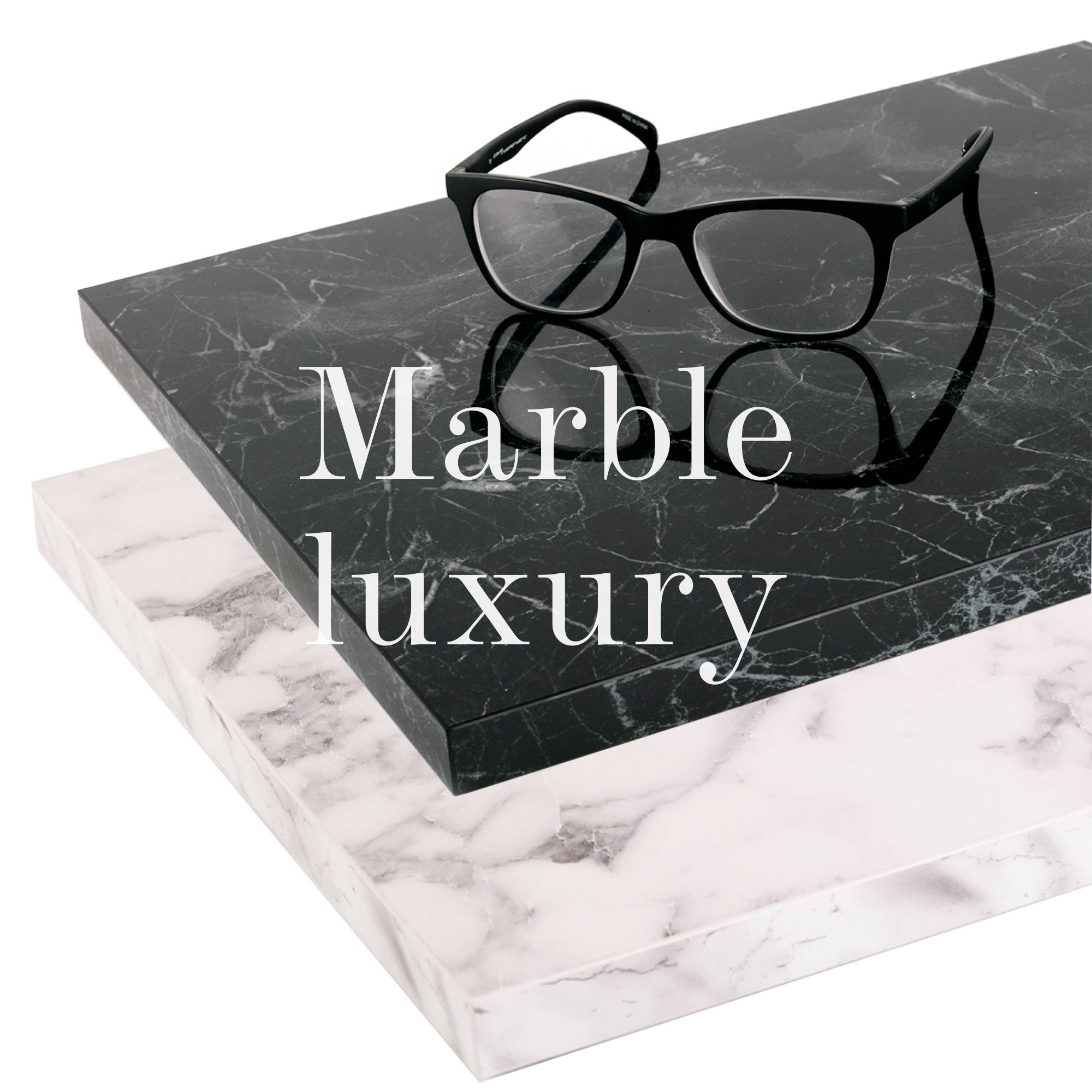 Marble Luxury Shelves