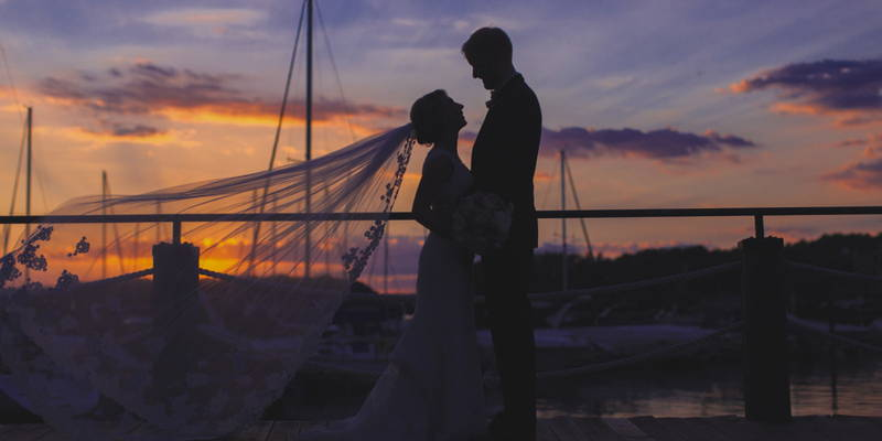 Classically Romantic Yacht Club Wedding