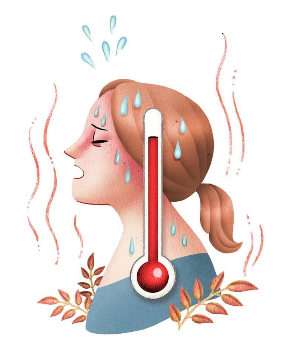 Hot Flashes Menopause Symptoms