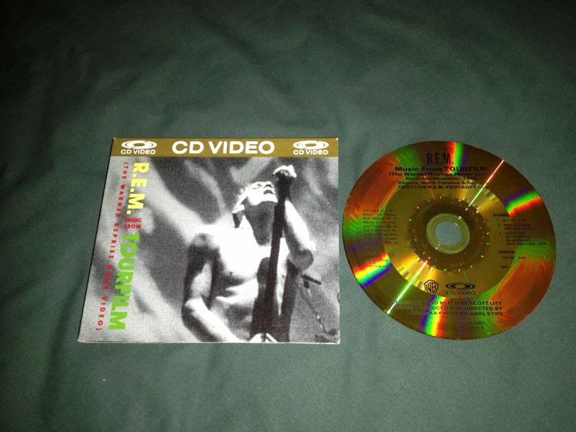 R.E.M. - Music From Tourfilm Rare CD/Video Disc NM UK Pressing