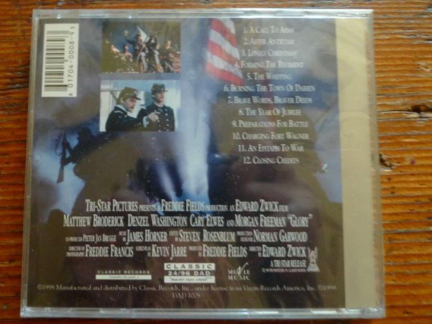 James Horner/Boys Choir Harlem - Glory Soundtrack Classic Records 24/96 DVD-A