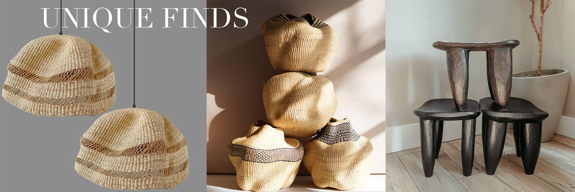 Paulski Art - Rwanda baskets, african tribal masks, african wall baskets, senufo stool