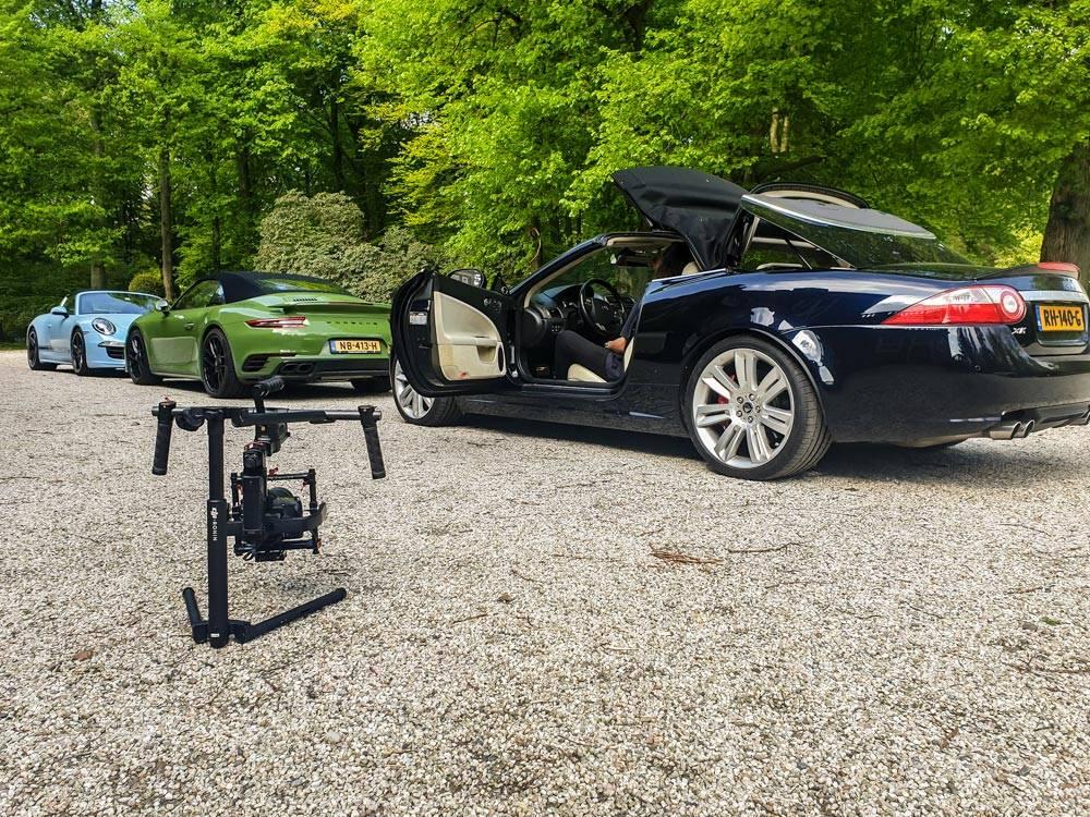 Jaguar XKR, Porsche Turbo S, Porsche Targe