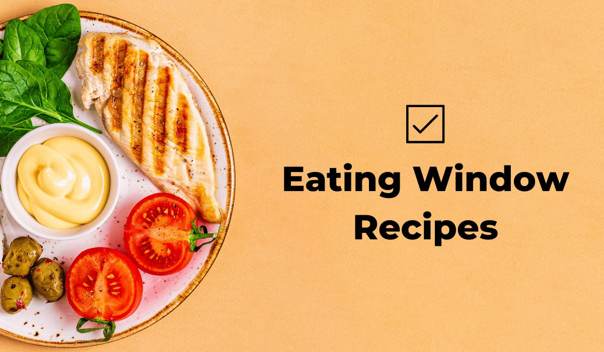 Fasten app eating window recipes