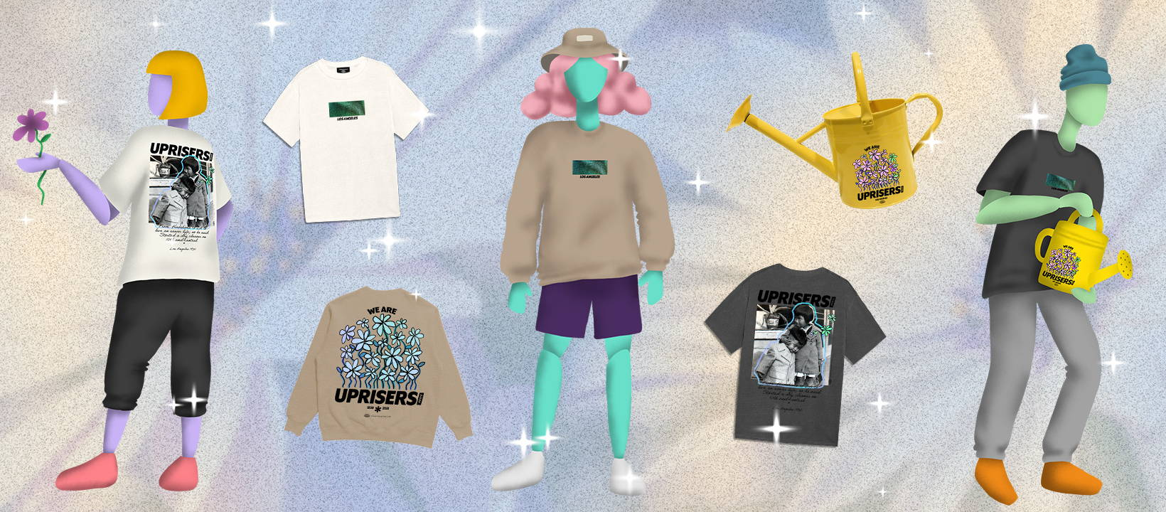 Complexland 2.0 We Are UPRISERS Streetwear