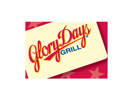 $25 Gift Certificate to Glory Days Grill