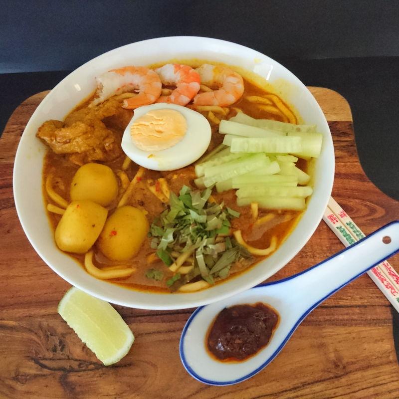 Date: 1 Dec 2019 (Sun) 41st Main: Curry Laksa/Laksa Lemak/Nyonya Laksa (Malaysian Curry Noodles) [126] [123.5%] [Score: 9.5]