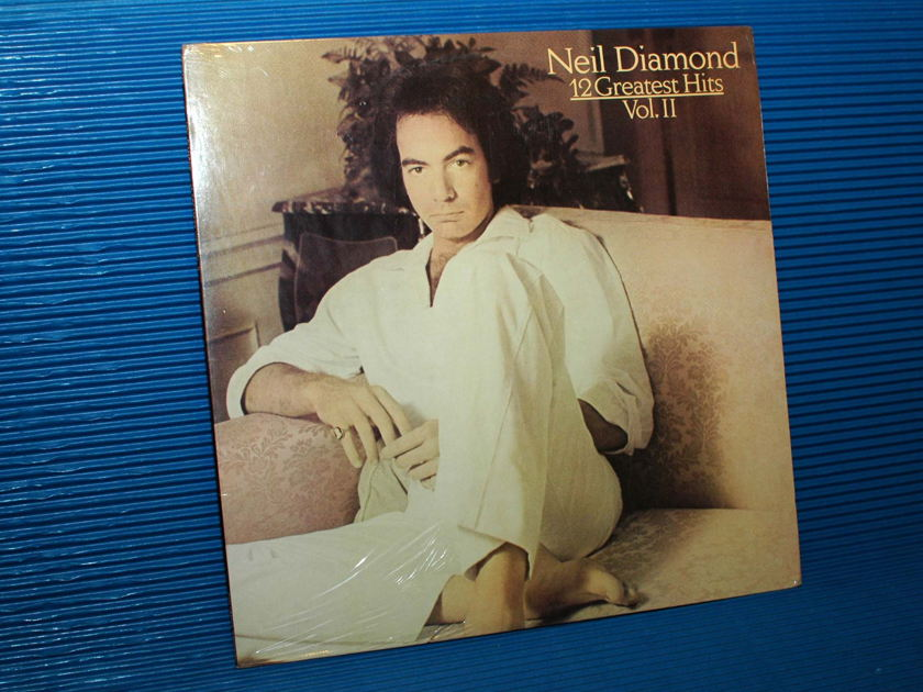 "NEIL DIAMOND -  - ""12 Greatest Hits Vol II"" -  Columbia 1982 Sealed"