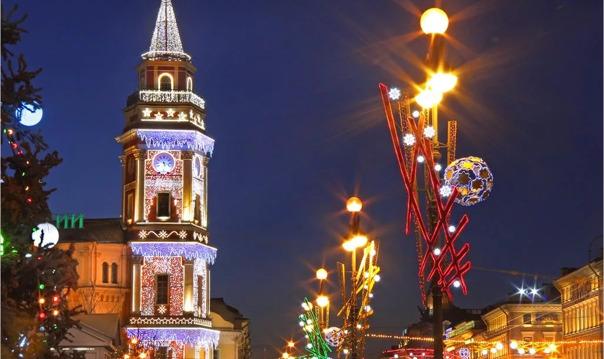 Новогодняя сказка Петербурга. Обзорная экскурсия на автомобиле