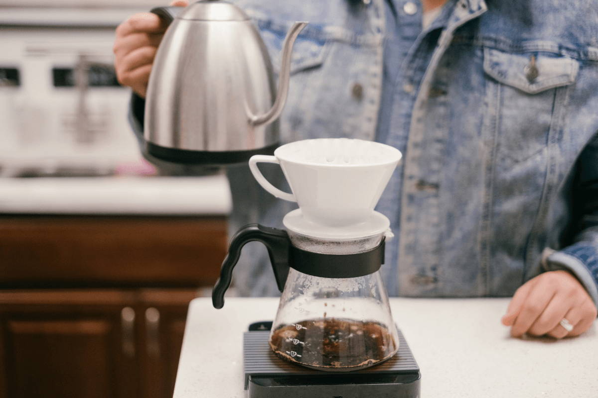 a V60 Pour Over Device