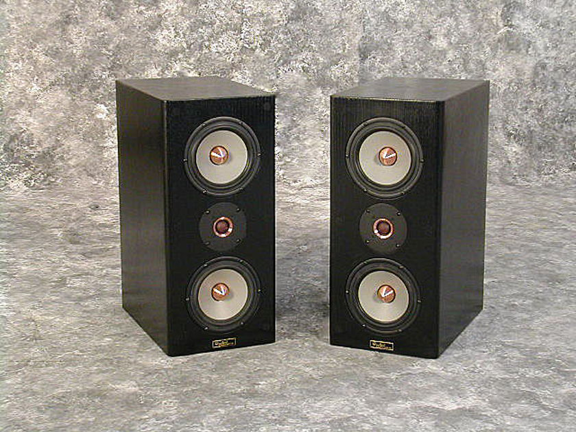 Tyler Acoustics Linbrook sig monitors in black oak!  $1800 dhipped!