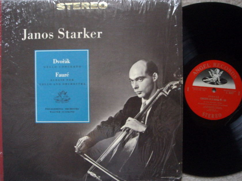 EMI Angel Semi-Circle / JANOS STARKER, - Dvorak Cello Concerto, NM!