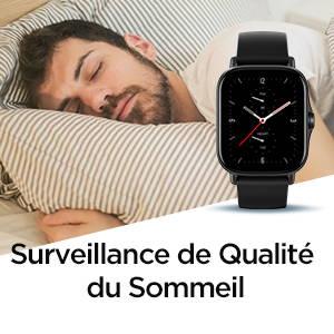 Amazfit GTS 2e - Surveillance de Qualité du Sommeil