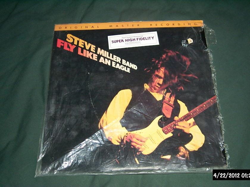 Steve Miller Band - Fly Like An Eagle mfsl audiophile lp nm japan