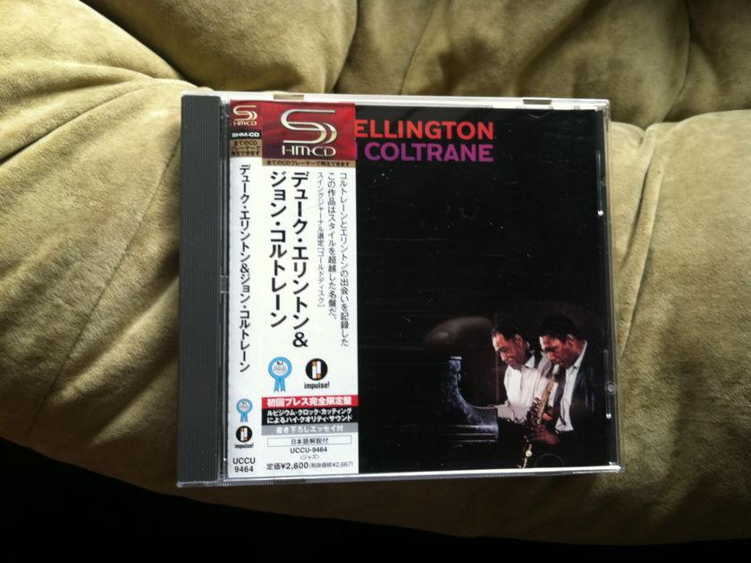 Ellington Coltrane - Duke Ellington and John Coltrane shm-cd