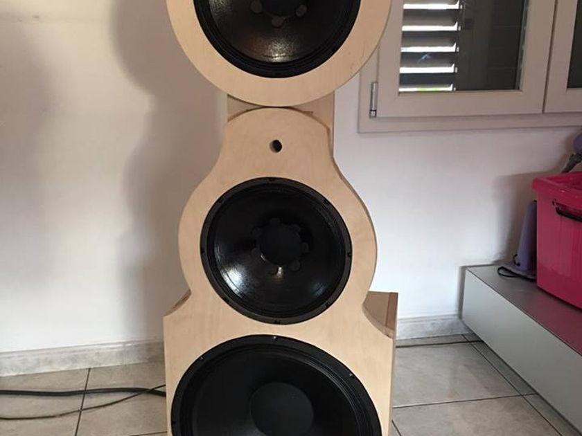 Bastanis Speakers  Mandala  pair custom work
