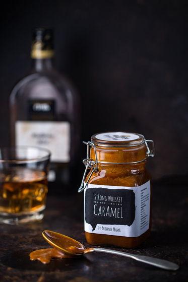 Классическая соленая карамель с виски